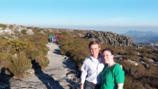 Victoria and Eric at Table Mountain