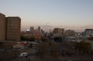 Johannesburg from the ramparts
