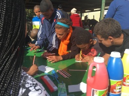 kids activity on Mandela Day